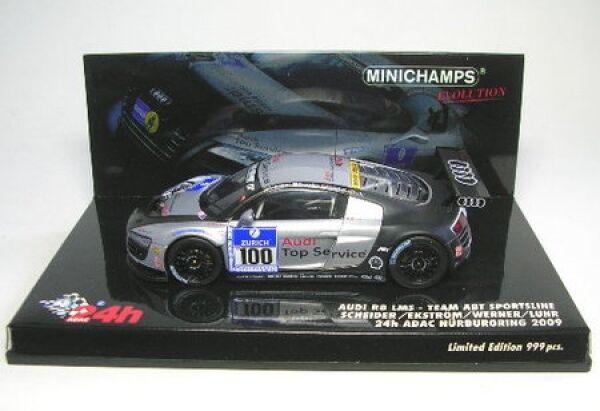 Audi R8 lms no. 100 24H adac nürburgring 2009