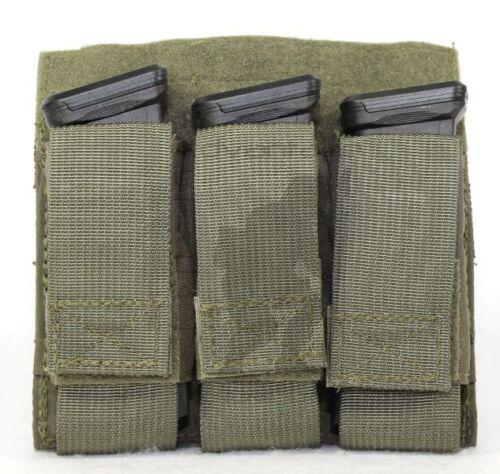 Tactical Tailor FIGHT LIGHT MOLLE Magna Triple Pistol Mag coyote//multicam//ranger