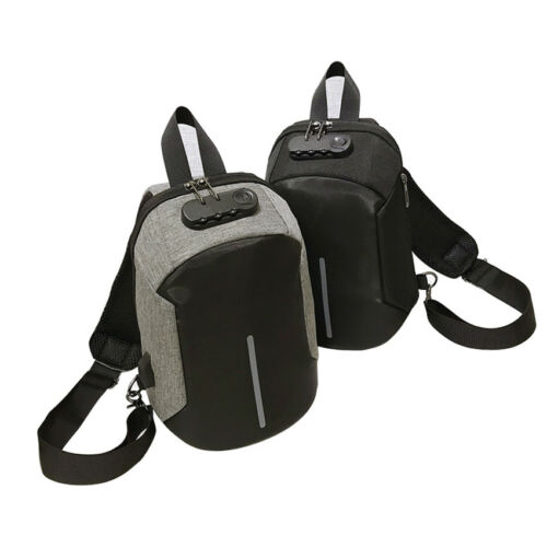 Men Anti-theft Chest Pack Summer Short Trip Messengers Shoulder Sling Bag Sport