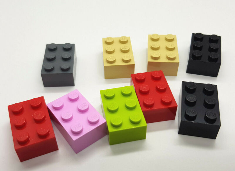 LEGO ® DUPLO 1x2x2 motivo pietra vari a scelta NUOVO