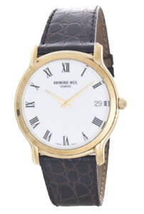 Raymond Weil Geneve 5569 Toccata 39mm Yellow Gold Plated Men S Watch