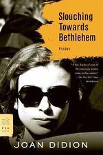 FSG Classics: Slouching Towards Bethlehem by Joan Didion (2008, Paperback)