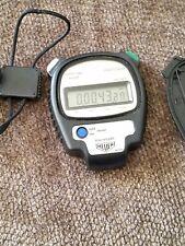 Vintage Tag Heuer Microsplit 1030 Digital Stop Watch Chronometer Gym Track Coach