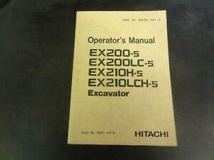 Hitachi-EX200-5-EX200LC-5-EX210H-5-EX210LCH-5-Excavator-Operator-Manual