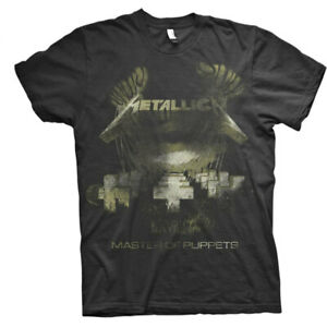 Metallica-Master-Of-Puppets-Distressed-Shirt-S-XXL-Official-T-Shirt-New