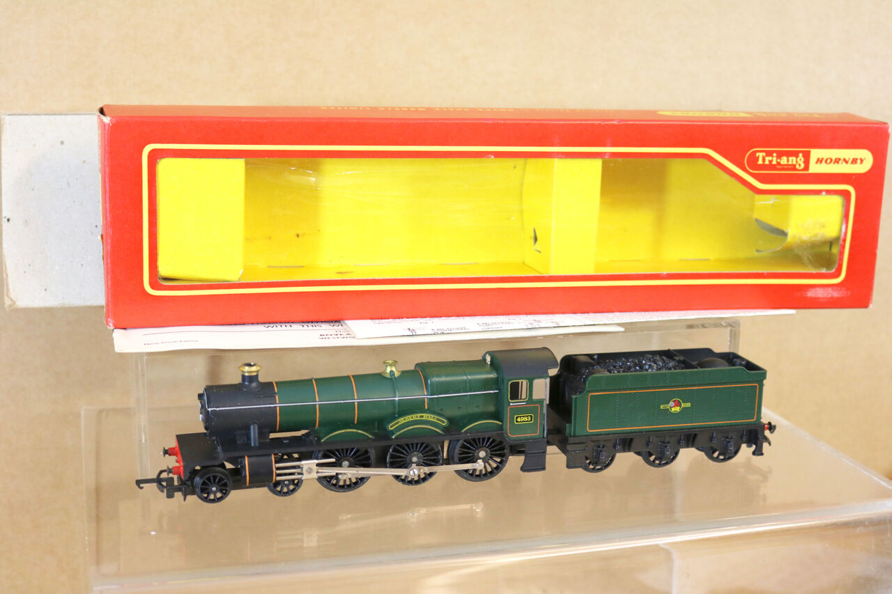 TRIANG HORNBY R759 BR 4-6-0 HALL CLASS LOCO 4983 ALBERT HALL MINT BOXED ng