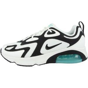 Detalles de Nike Air Max 200 Women Schuhe Damen Ocio Zapatillas Deportivas Blanco AT6175 105