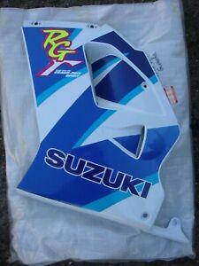 Suzuki-RG125Fun-RG125F-RG125-Fun-NOS-LHS-Fairing-Panel-Blue-amp-White