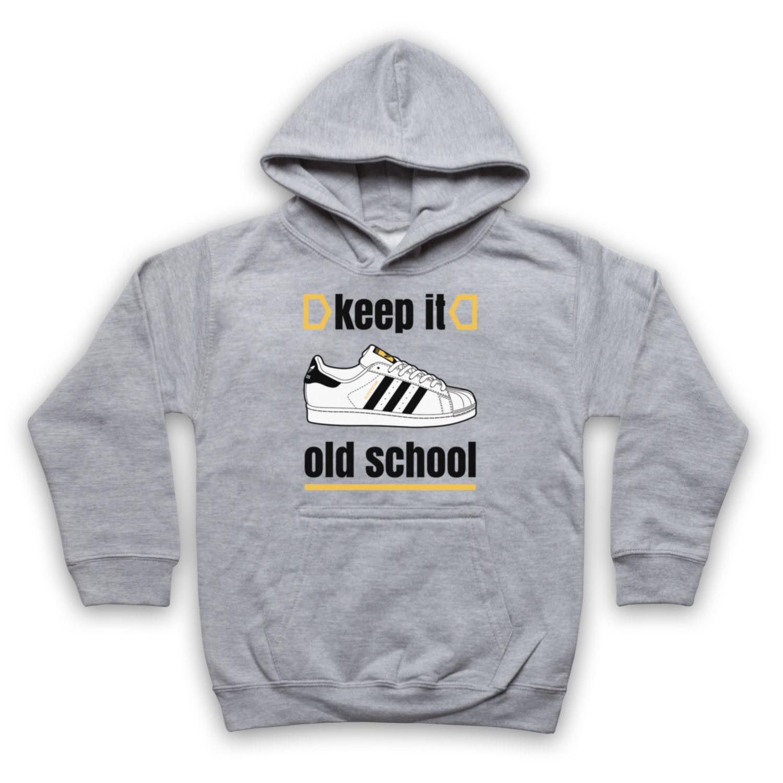 KEEP IT OLD SCHOOL RETRO RETRO RETRO SUPERSTAR SLOGAN BREAKDANCE ADULTS KIDS HOODIE e07108