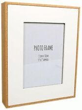 Bordo in legno bianco Cornice Foto 5 x 7