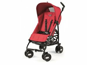 Peg Perego Pliko Mini Mod Red Lightweight, Umbrella Single Seat Stroller