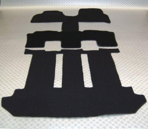 Passform-Velours-Fußmatten für Fiat Ulysse komplett inkl Kofferraum 2002-2011