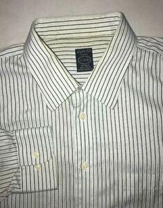 Men-039-s-Joseph-amp-Feiss-Button-Down-Dress-Shirts-Size-17-34-35-Slim-Fit