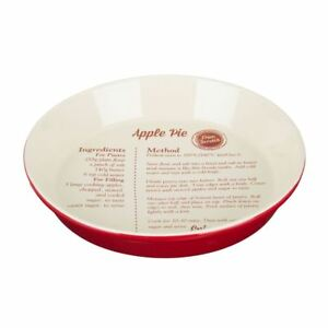 Premier Housewares From Scratch Pie Dish, 1.65 L - Red