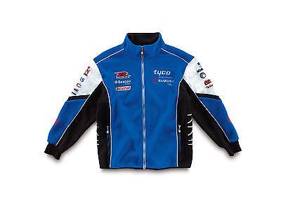 Genuine Suzuki Tyco Suzuki 2013 Adult Team Fleece 100% Polyester Blue Soft