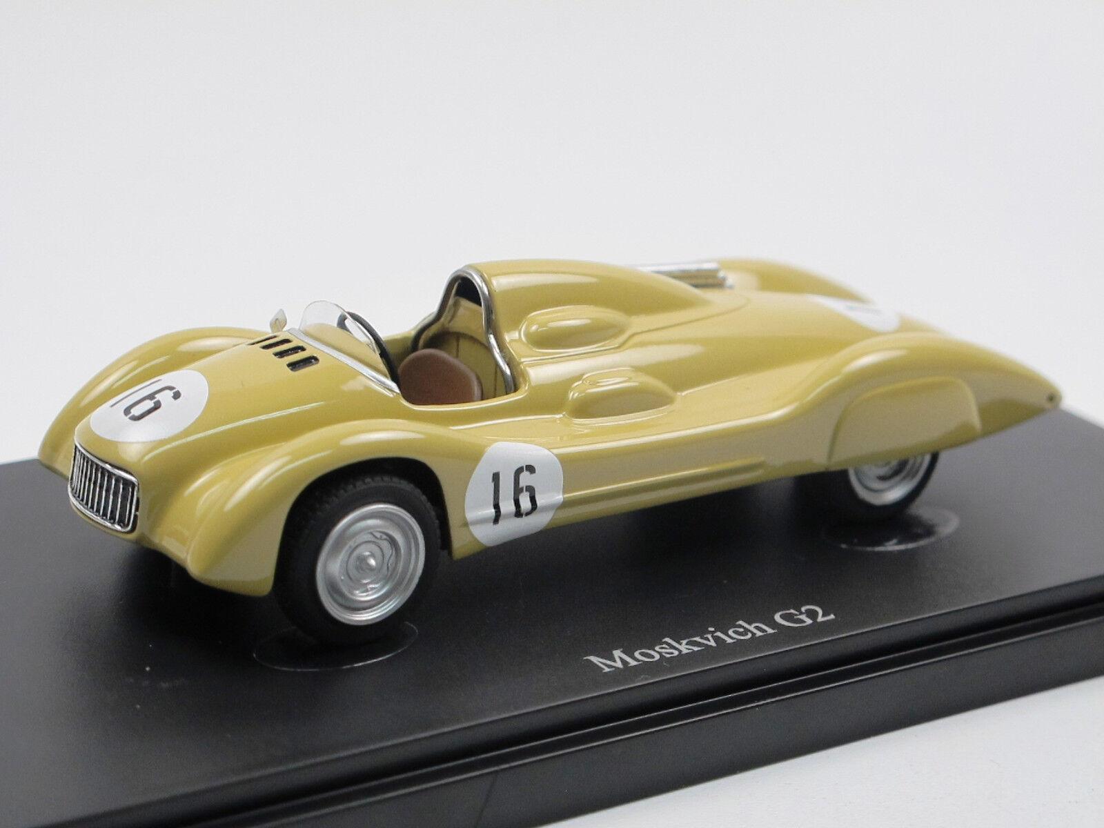 Autocult 07010-MOSKVICH MOSKWITSCH g2 - 407-Voiture de course 1959 USSR - 1 43