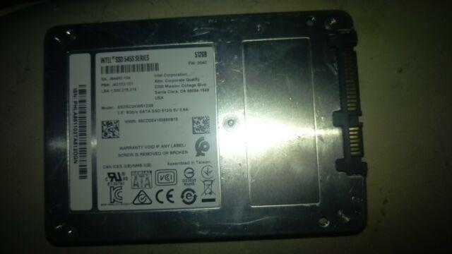 """Intel SSD 540S Series SSDSC2KW360H6 2.5/"""" 6Gb//s SATA SSD 360GB Solid State Drive"""