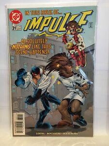 Impulse-1995-31-VF-1st-Print-DC-Comics-1997