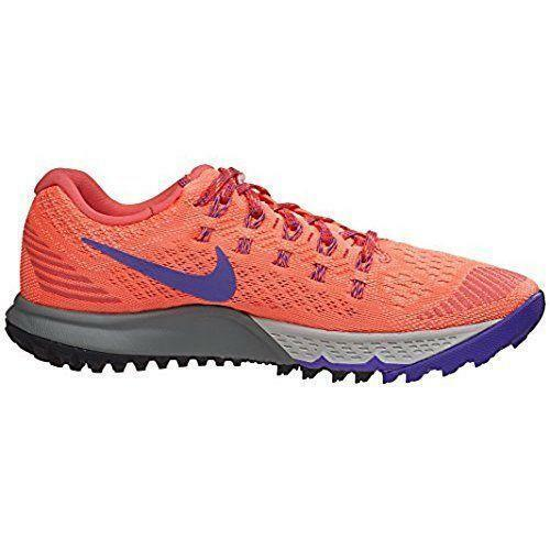 6109e7d6cff42 Nike Air Zoom Terra Kiger 3 Womens Running Shoes Orange Grape 749335-802 Sz  7.5 for sale online