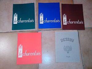 Protege-Cahiers-034-Le-Charentais-034-034-Dessin-034-Lot-de-5