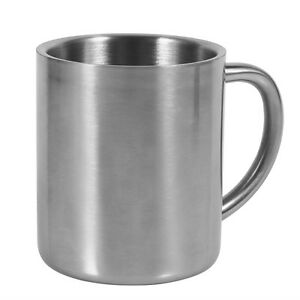 Stainless-Steel-Double-Wall-Mug-Travel-Camping-Coffee-Water-Milk-Drinking-Cup-WY