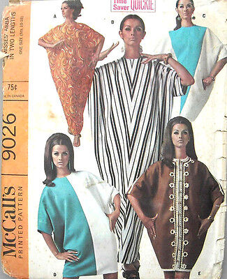 """Vintage Men/'s Sewing Pattern Caftan Kaftan  Medium Chest 38/"""" 40/"""""""