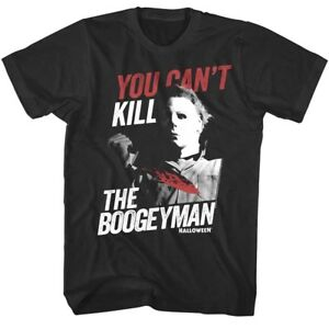 b5f7ac0aa Details about Halloween Movie You Can't Kill The Boogeyman Men's T Shirt  Michael Myers Horror