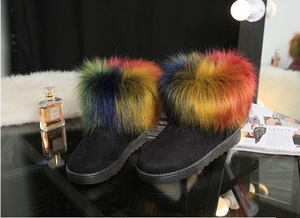 stivali stivaletti scarpe donna simil tacco 2 nero colorati simil donna pelle  comode 8195 59107f