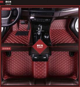 Car Floor Mats >> Details About 2006 2019 Car Floor Mats Fit For Nissan Rogue Altima Sentra Maxima Gt R