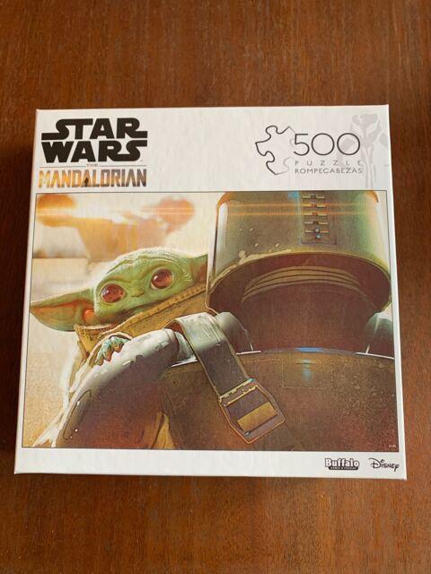 🔥Brand New! Baby Yoda 500 Piece Jigsaw Puzzle - Star Wars Mandalorian The Child