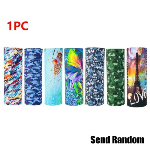 1PC//3PCs Camouflage Tube Scarf Bandana Head Face Cover Neck Gaiter Head Wear New