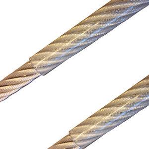 Sehr Edelstahl Drahtseil Edelstahlseil PVC Ummantelt,1mm 2mm 3mm 4mm YA26