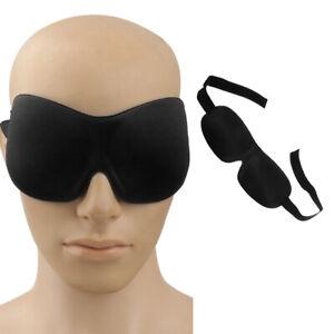 3D Eye Mask Night Relax Rest Sleep Soft Padded Shade Cover Sleeping Blindfold
