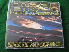 MEAT BEAT MANIFESTO.. Edge Of No Control   (4 Track Single)