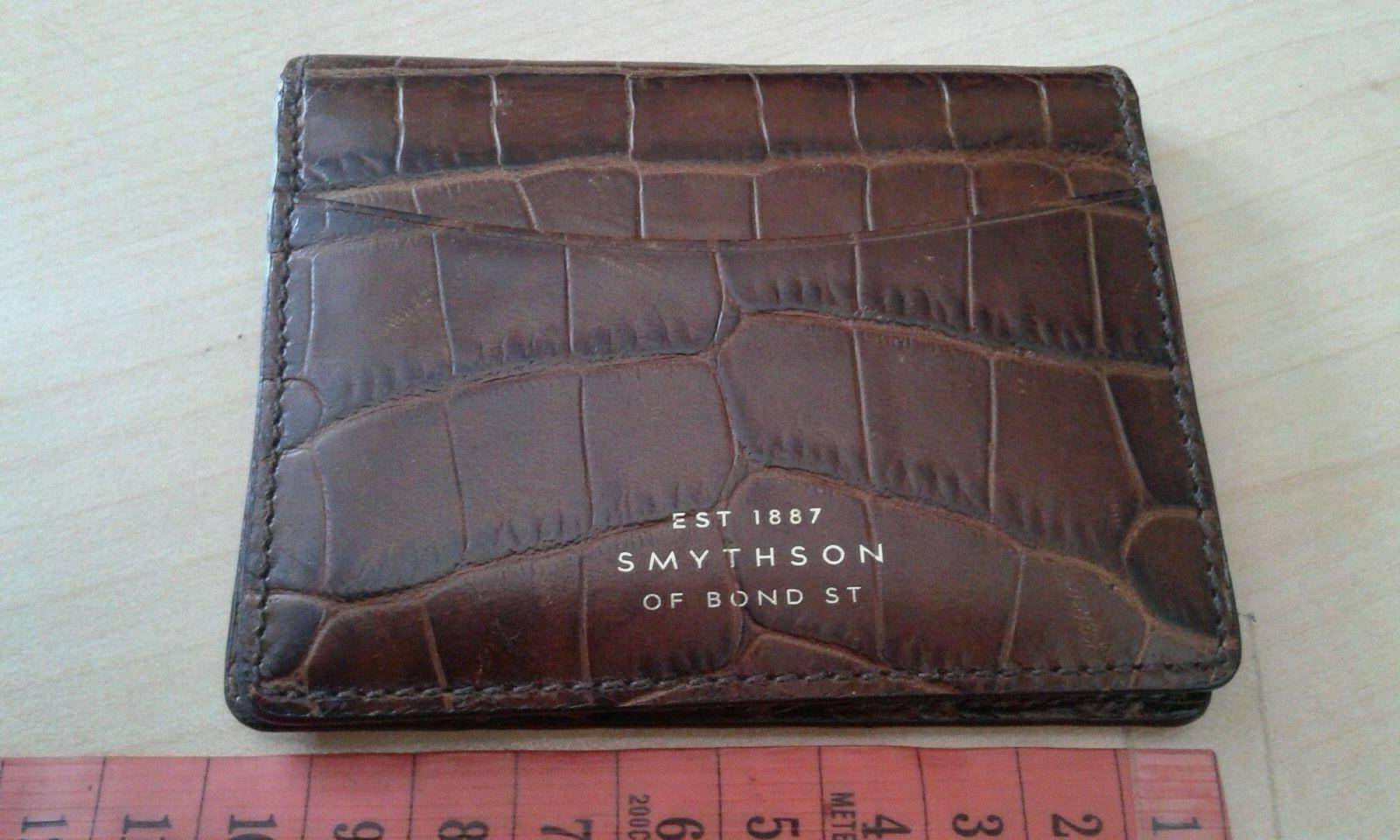 Original smythson card holder Collection