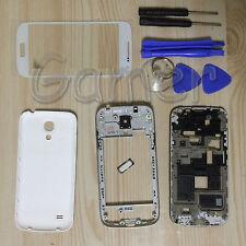 Full Housing Case + Screen Glass + tools For Samsung Galaxy S4 mini I9190 white