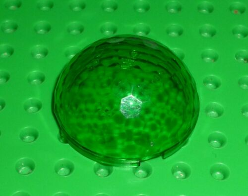 30208 Hemisphere 4 x 4 Multifaceted CYLINDER LEGO TRANS GREEN x 1 F22