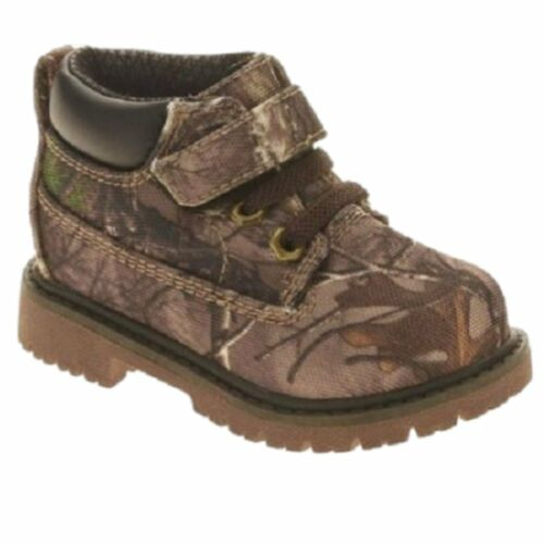 Realtree Garanimals Toddler Boys Green Camo Work /& Hiking Boots