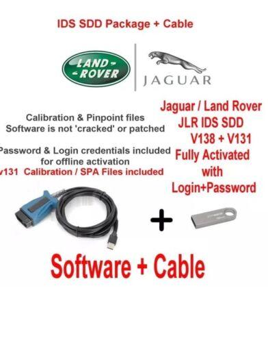 USB 16GB V131 Cable Land Rover Range Rover Vogue Evoque Diagnostics kit v138