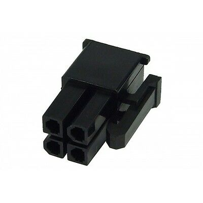 Shakmods 18 pin Female Power Supply Connector Socket Black 18 Free Female Pins