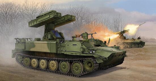 9k35 Strela-10 Sa-13 Gopher Surface To Air Missile System 1 35 Plastic Model Kit