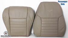 2002 Ford Mustang GT V8 -Passenger Complete Perforated Leather Seat Covers Tan