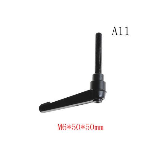 M6 M8 M10 Clamping Lever Machinery Adjustable Locking Threaded Handle KnobAQ