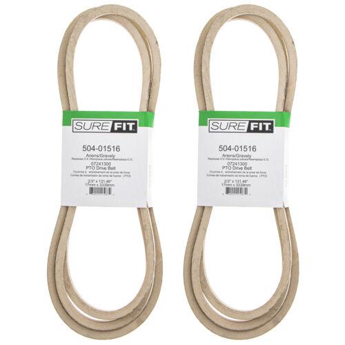 SureFit PTO Belts 07241300 Ariens Gravely Pro-Master 260Z 992047 992048 2PK