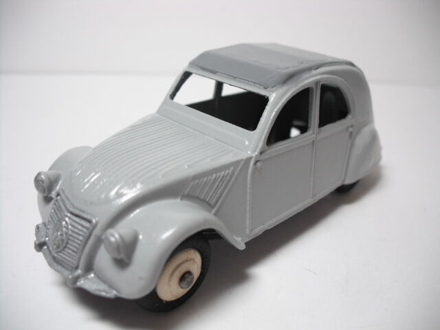 DINKY TOYS MECCANO FRANCE. tF  CITROEN 2CV. RESTORED NEAR MINT