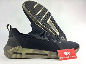 5aa41fab Details about New! Under Armour HOVR SLK Evo 21919001 Black/Trail  Green/Black Shoes c1