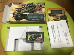 STEEL-EMPIRE-From-Hot-B-GBA-Nintendo-Game-Boy-Advance-JP-Free-Ship