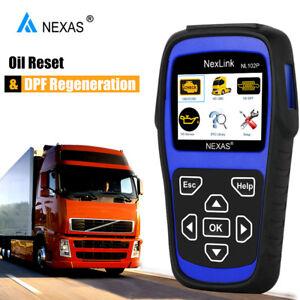 Details about Heavy Duty Diesel DPF Regen Diagnostic Scanner For CUMMINS  DETROIT HINO Truck