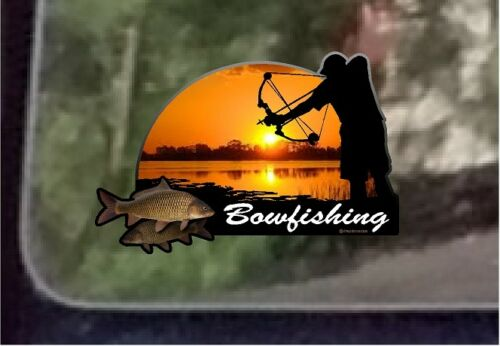 "4/"" x 6/"" Bowfishing Decal Sticker One ProSticker 1528"