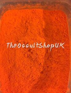100% naturel orange sindoor Kum Puja Wicca Ritual Autel Hanuman magique 1OiTSGQS-09161643-646084884
